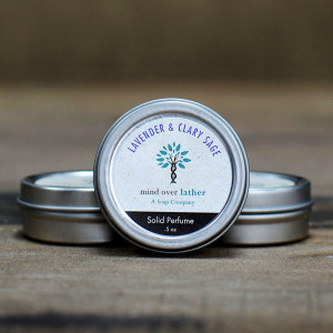 Mind Over Lather Lavender & Clary Sage Perfume