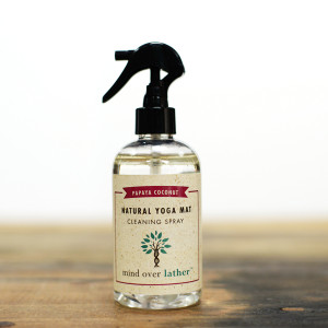 Mind Over Lather Papaya Coconut Yoga Mat Cleaner