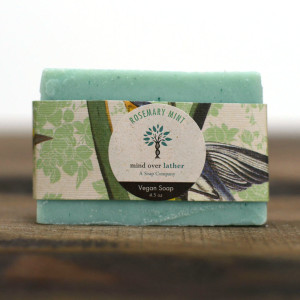 Rosemary Mint Vegan Soap