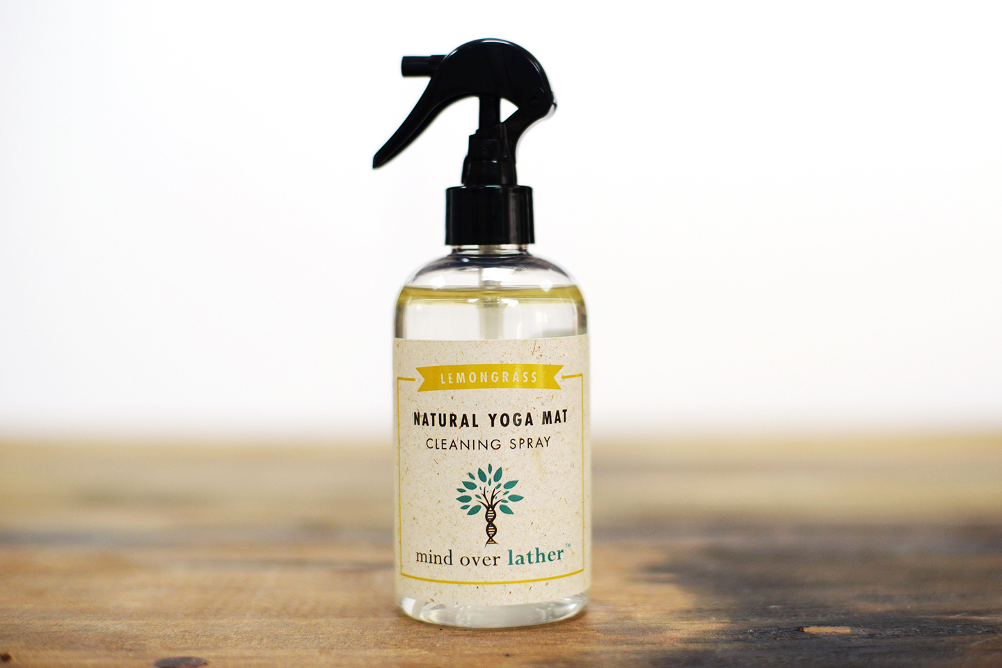 Mind Over Lather Lemongrass Yoga Mat Cleaning Spray